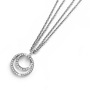 Oliver Weber Double Crystal Set Circle Pendant - Product number 9358730