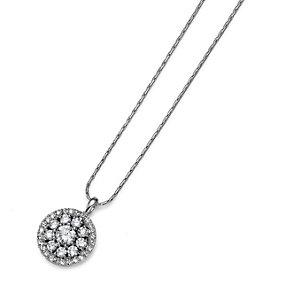 Oliver Weber Round Crystal Cluster Pendant - Product number 9358870