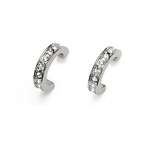Oliver Weber Crystal Set Half Hoop Earrings - Product number 9358919
