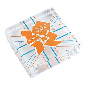 London 2012 Union Jack Flag Emblem Gift Block - Product number 9364080