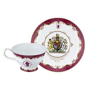 Diamond Jubilee Cup & Saucer Set - Product number 9364404