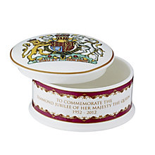 Diamond Jubilee Trinket Box - Product number 9364420