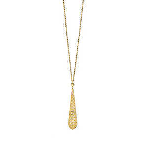 Gucci ladies' 18ct gold diamond light necklace - Product number 9367276