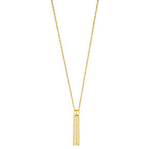 Gucci ladies' 18ct gold tassel necklace - Product number 9367314