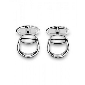 Gucci men's Sterling Silver horsebit cufflinks - Product number 9367462