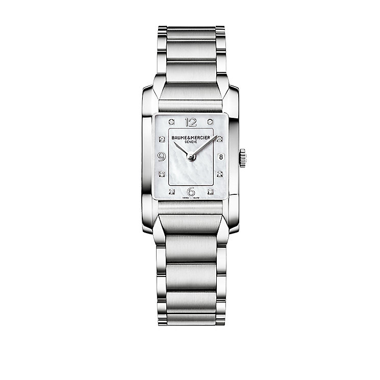 Baume & Mercier Hampton ladies' diamond set bracelet watch - Product number 9382879