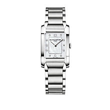 Baume & Mercier Hampton ladies' diamond set bracelet watch - Product number 9382879
