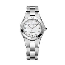 Baume & Mercier Linea diamond set bracelet watch - Product number 9383026