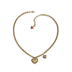 Guess Gold-Plated Heart Necklace - Product number 9383824