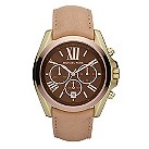 Michael Kors ladies' chronograph gold-plated watch - Product number 9384650