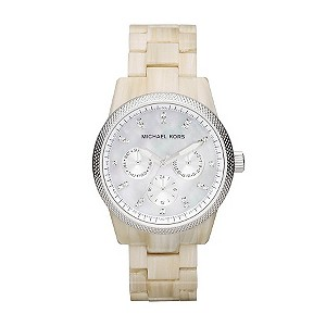 Michael Kors cream bracelet watch - Product number 9384790
