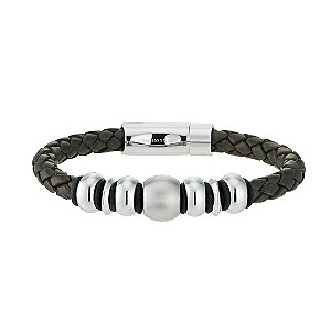 Fred Bennet Leather and Stainless Steel Bracelet - Product number 9395857