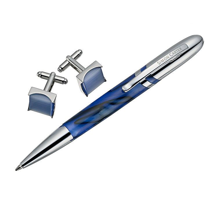 Simon Carter Exclusive blue pen set - Product number 9404716