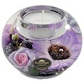 Special Memories Purple Flower Candle Holder - Product number 9406379