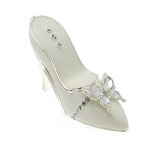 Diamante Butterfly Shoe