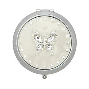 Butterfly Diamante Butterfly Compact Mirror - Product number 9406441