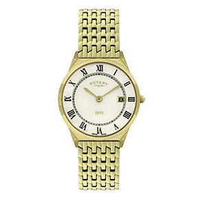 Rotary men's gold-plated bracelet watch - Product number 9412972