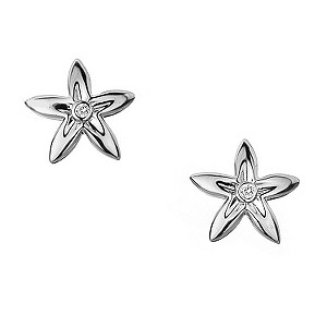Hot Diamonds silver diamond set flower stud earrings - Product number 9413243