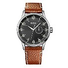 Hugo Boss men's tan strap watch - Product number 9413448