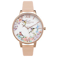 Olivia Burton Hummingbird Ladies' Rose Gold Plated Watch - Product number 9418040