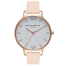 Olivia Burton Big Dial Ladies' Rose Gold Plated Peach Watch - Product number 9418326