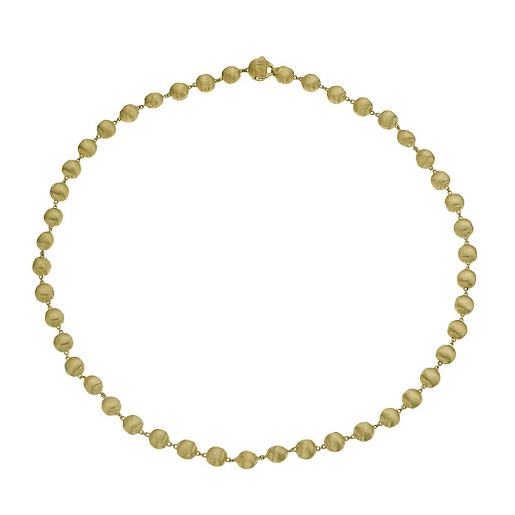 Marco Bicego 18ct yellow gold boule necklace - Product number 9420835