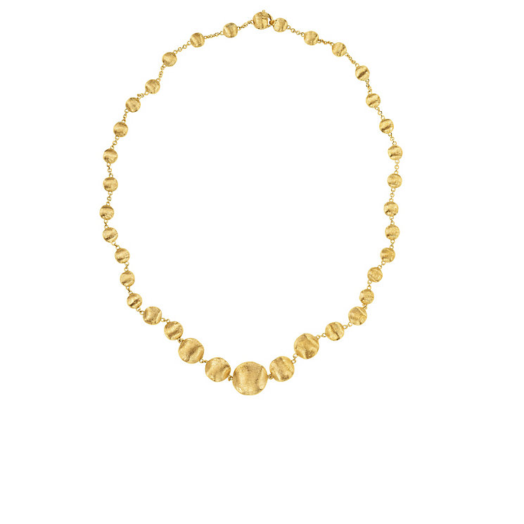 Marco Bicego 18ct yellow gold boule graduated necklace - Product number 9420843