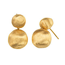 Marco Bicego 18ct yellow gold boule drop earrings - Product number 9420894