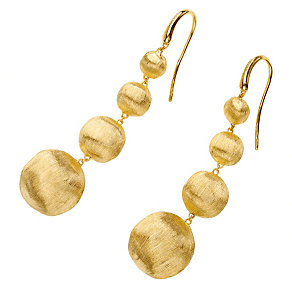 Marco Bicego 18ct yellow gold four boule drop earrings - Product number 9420908
