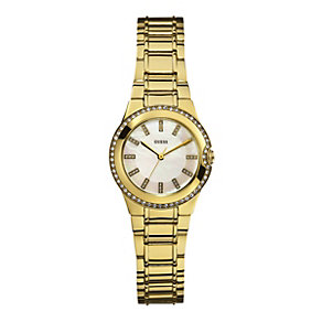 Guess Mini Moonbeam Gold Bracelet Watch - Product number 9429301