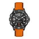 Nautica men's orange strap watch - Product number 9431810