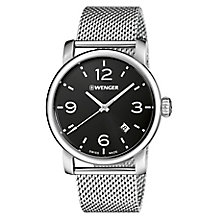 Wenger Urban Metropolitan Men's Mesh Bracelet Watch RRP £139 - Product number 9432280