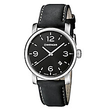 Wenger Urban Metropolitan Men's Leather Strap Watch RRP £129 - Product number 9432299