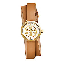 Tory Burch Reva Ladies' Yellow Gold Tone Double Wrap Watch - Product number 9433252