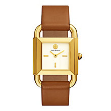 Tory Burch Phipps Ladies' Yellow Gold Tone Strap Watch - Product number 9433414