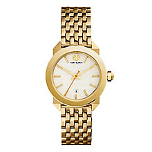 Tory Burch Whitney Ladies' Yellow Gold Tone Bracelet Watch - Product number 9433430