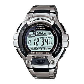 Casio Men's Solar Power Bracelet Watch - Product number 9435441