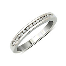 Perfect Fit Platinum & Diamond Eternity Ring - Product number 9437029