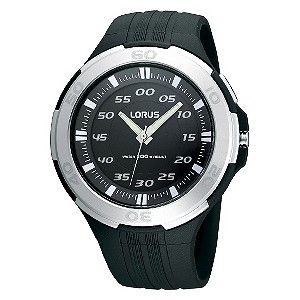 Lorus Sports Men's Back Rubber Strap Watch - Product number 9437738