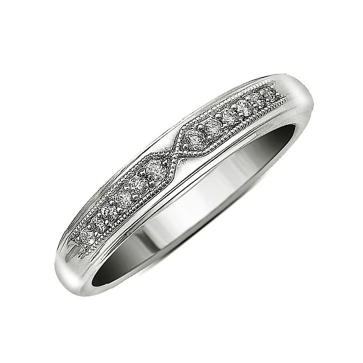 Perfect Fit 18ct White Gold Diamond Eternity Ring - Product number 9437908