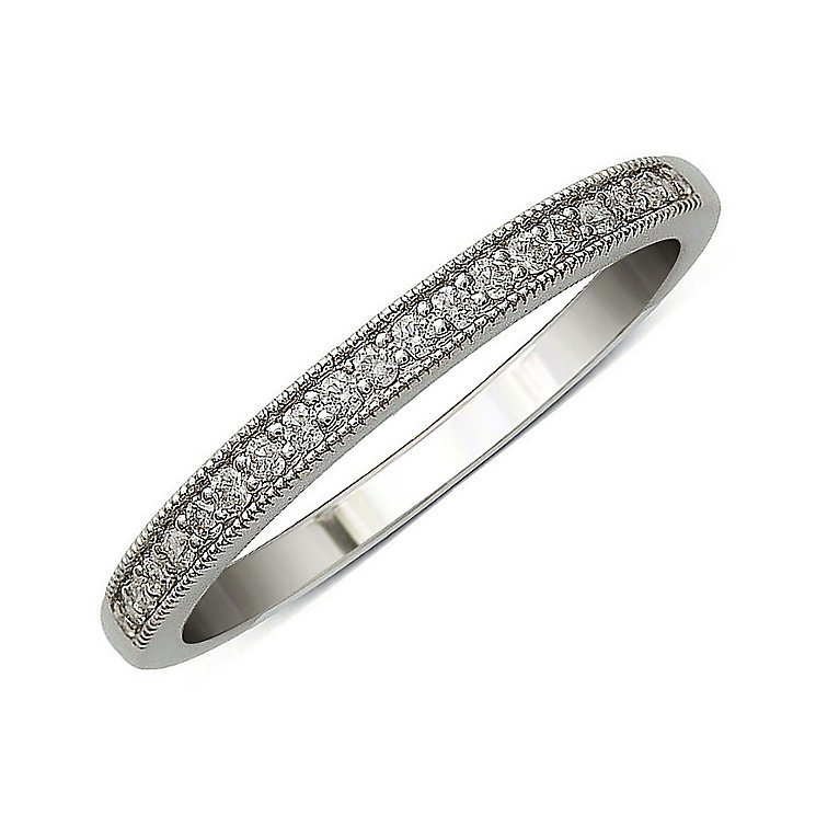 Perfect Fit 9ct White Gold Diamond Eternity Ring - Product number 9438661