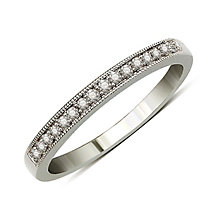 Perfect Fit 9ct White Gold Diamond Eternity Ring - Product number 9438807