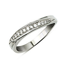 Perfect Fit 9ct White Gold Diamond Eternity Ring - Product number 9439080