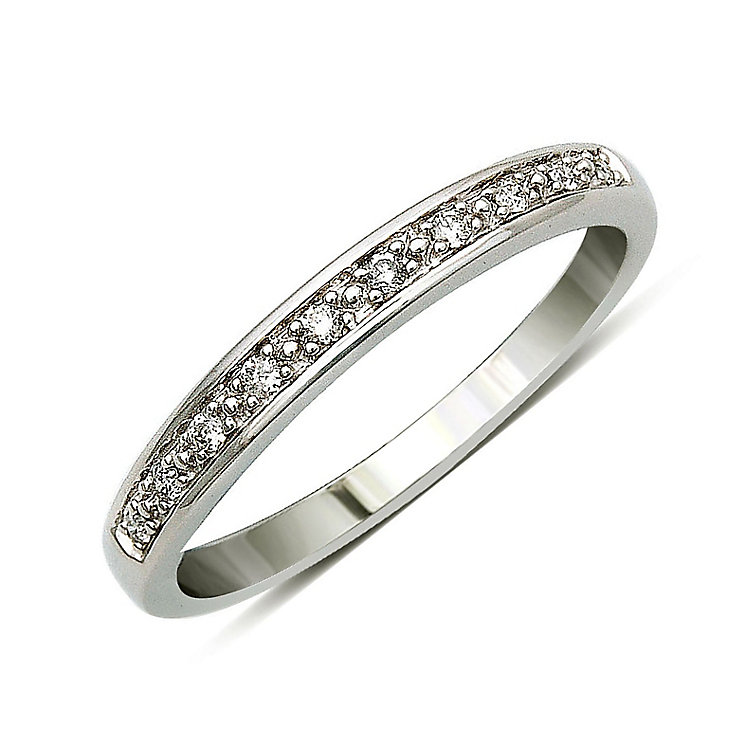 Perfect Fit 9ct White Gold Diamond Eternity Ring - Product number 9439242