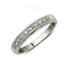 Perfect Fit 9ct White Gold Diamond Eternity Ring - Product number 9439374