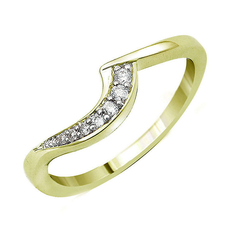 Perfect Fit 9ct Yellow Gold Diamond Eternity Ring - Product number 9439501