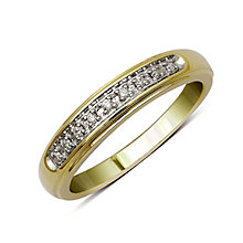 Perfect Fit 9ct Yellow Gold Diamond Eternity Ring - Product number 9439765