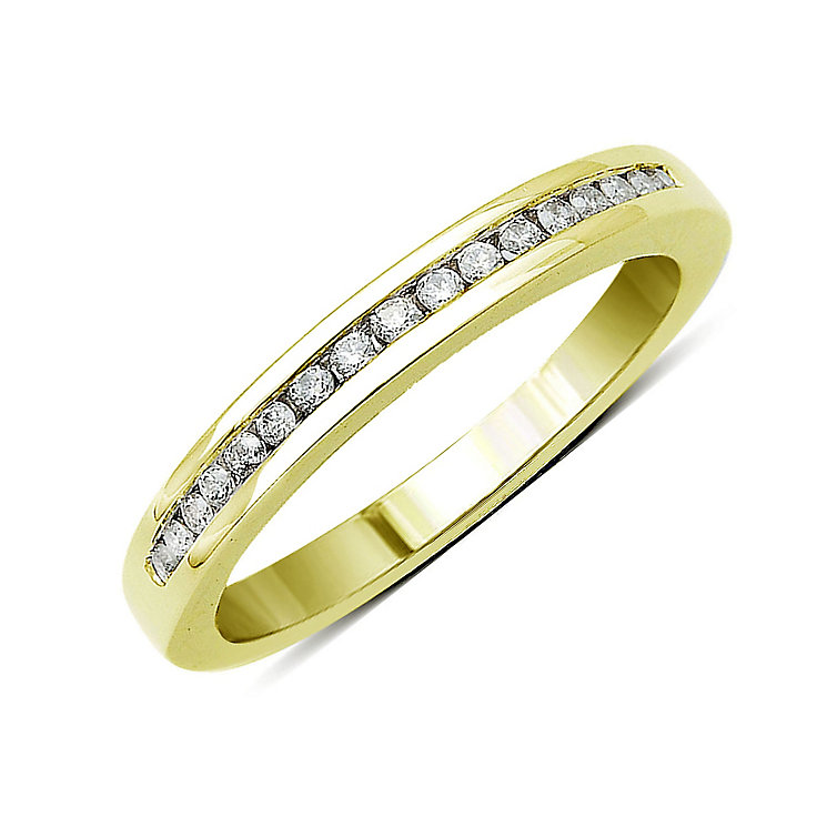 Perfect Fit 18ct Yellow Gold Diamond Eternity Ring - Product number 9443398