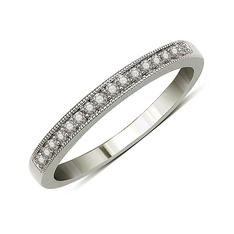 Perfect Fit 9ct White Gold Diamond Eternity Ring - Product number 9443525