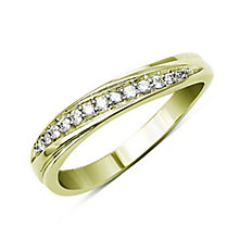 Perfect Fit 9ct Yellow Gold Diamond Eternity Ring - Product number 9443657